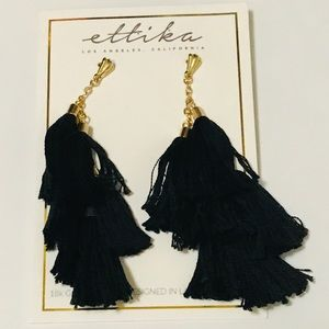 🔴 Ettika Daydreamer Tassel Earrings